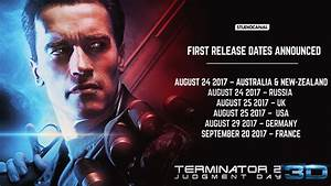 Russia Added to Terminator 2: 3D Theatrical Release Dates ...