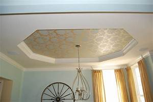 painting a tray ceiling A Decorator's Journey