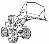 Bulldozer Construction Coloring Pages Printable Site sketch template