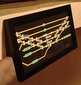 Using Touch Toggles in a large model railroad panel