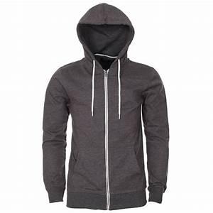 Grey Zip Up Hoodie Mens | Fashion Ql