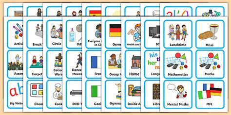 KS1 Visual Timetable   Visual Timetable, SEN, Daily Timetable