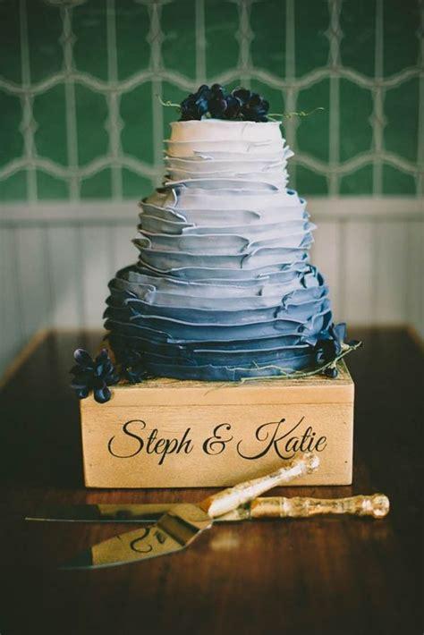 romantic  sweet ruffle wedding cakes weddingomania