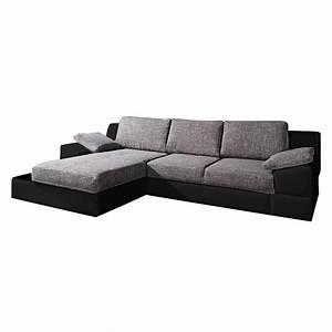 Ecksofa Kunstleder Schwarz : sofa mit schlaffunktion von california bei home24 ~ Pilothousefishingboats.com Haus und Dekorationen