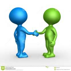 Partnership Handshake Clip Art
