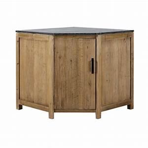 Meuble Angle Bois : meubles d 39 angle maisons du monde ~ Edinachiropracticcenter.com Idées de Décoration