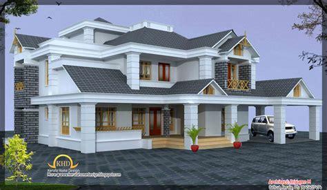 luxury home design elevation  sq ft kerala home design  floor plans