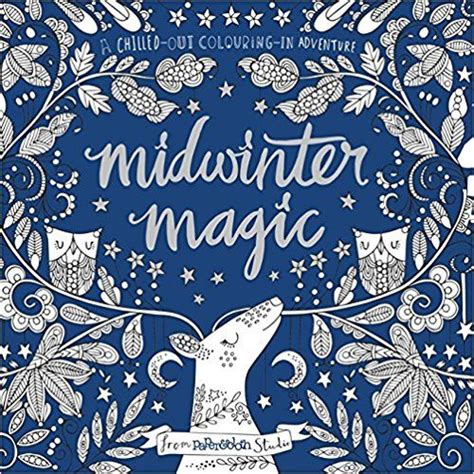 an ideal colouring book for the winter season midwinter