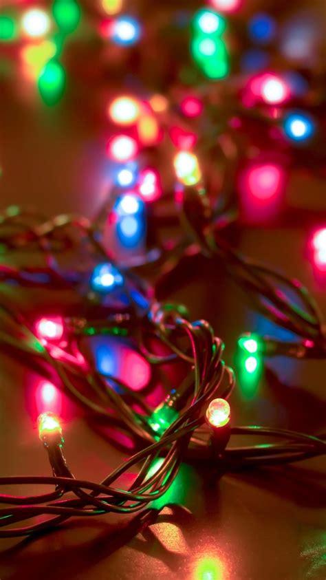 Christmas Lights Iphone Wallpaper Sanjonmotel