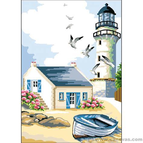 maison du canevas et de la broderie canevas p 233 n 233 lope le phare luc cr 233 ations la maison du canevas et de la broderie