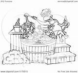 Bbq Sauce 1080px Chicken Tub Pig Chef Bull Cartoon Female Clipart Pouring Royalty Outlined Lafftoon Vector Kid 2021 sketch template