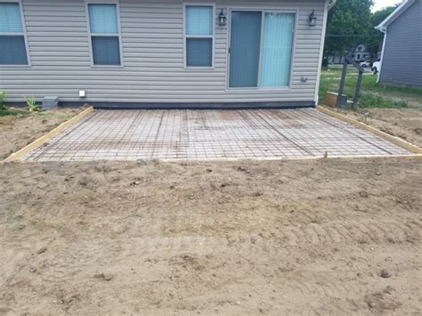 concrete patio work richmond mi ultimate contracting