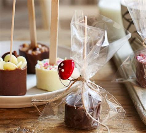 gifts from the kitchen ideas chocolate stirrers recipe food