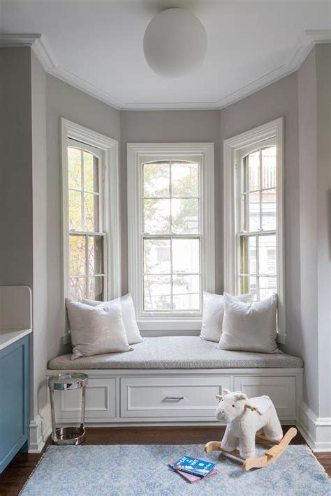 Window Bench Design by Built In Bay Window Bench Design Ideas
