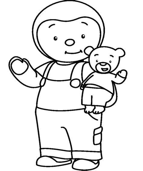 T'choupi Et Doudou (dessins Animés)  Coloriages à Imprimer