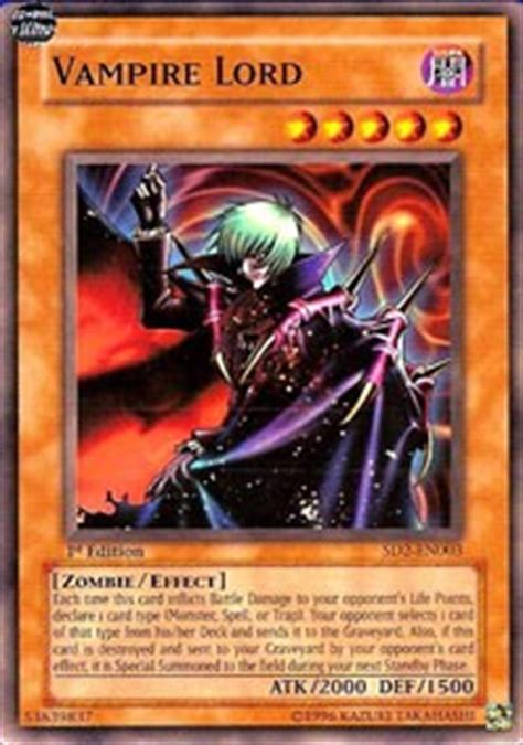 vire lord structure deck zombie madness yugioh