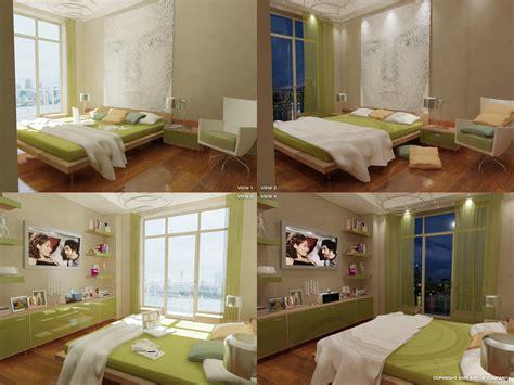 16 Green Color Bedrooms