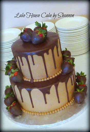 tiered chocolate grooms cake chocolate covered