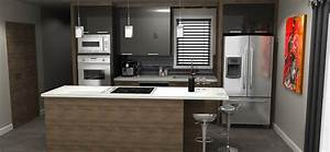 beautiful plan cuisine moderne pictures amazing house With plan de cuisine moderne