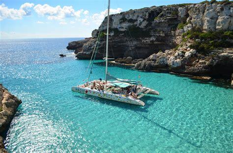 Catamaran Boat Trip Menorca by Catamaran En Mallorca Mallorca Catamarans