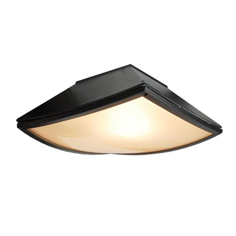 black colored outdoor ceiling lighting light fixture
