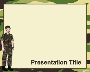 military powerpoint free army ppt powerpoint template