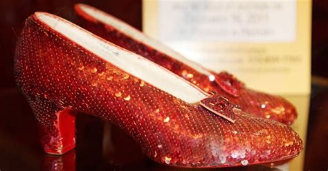 worth millions  stolen ruby slippers