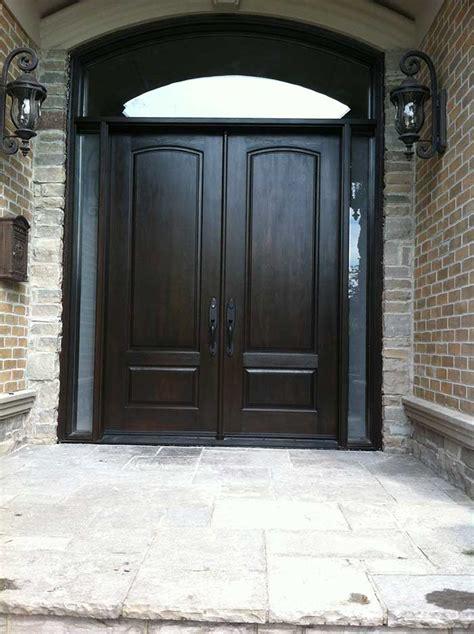 executive doors   side lites  matching art transom installed  woodbridge  windows