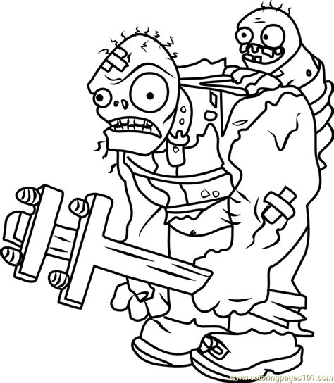 plants vszombies cattail coloring pages coloring pages