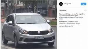 Fiat Argo 1 0 Surge Pela Primeira Vez Em Flagra Sem