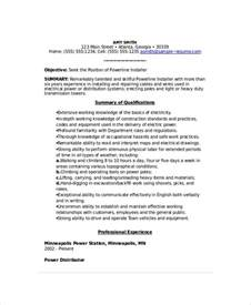Lineman Resume Template Lineman Resume Template 6 Free Word Documents Free Premium Templates