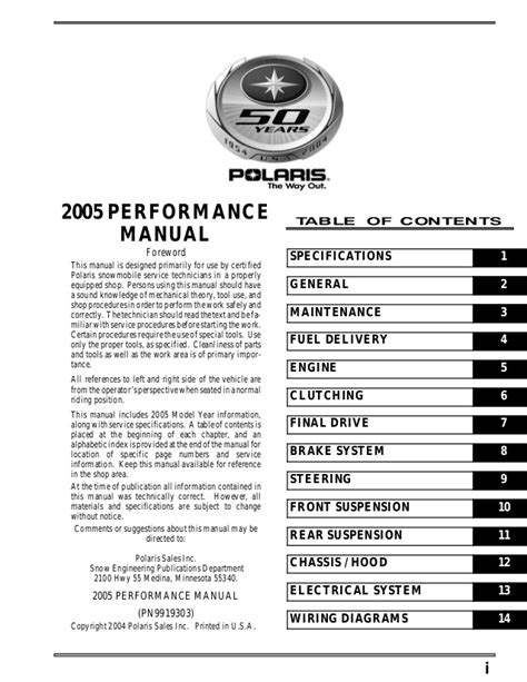 Polaris Edge Snowmobile Service Repair Manual
