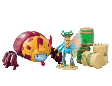 Tree Fu Tom Playset Ariela And Teabiscuit Rodeo