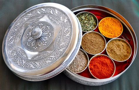 Indian Spice Organizer by Spice Shop Buy Spice Tins Here Smita Chandra