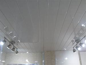 6 white v groove ceiling panels pvc plastic wall ceiling With plastic tongue and groove for bathrooms