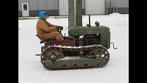 Oliver H G  Crawler Tractor