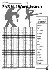 Dance Word Dancing Ballroom Puzzles Teach Coloring Recital Sheets Fun Classes Games Studio Awesome Learn Owner Teacher Social Spy Kittybabylove sketch template