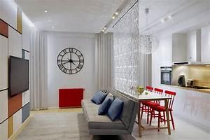 طراحی آپارتمان کوچک با مساحت کمتر از 50 مترمربع