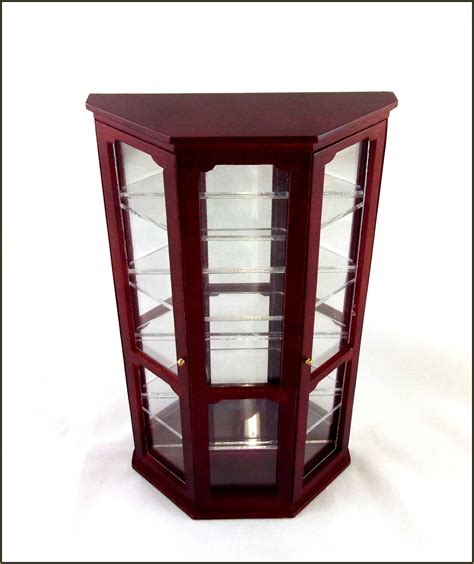 Small Curio Cabinet Ikea by Glass Curio Cabinets With Lights Home Design Ideas