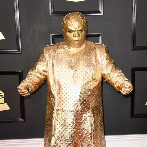 And CeeLo Green Wore...Exactly What To The Grammys ...