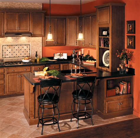 Woodstar Seacrest Birch Cabinets by Quality Cabinets Woodstar Series Traditional Kitchen