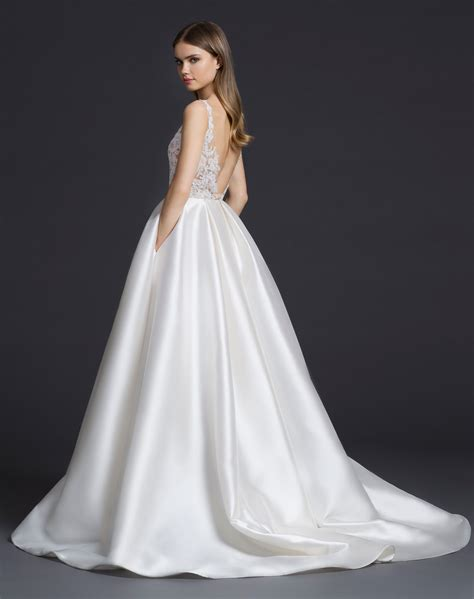 lz bridal gown  lazaro dallas texas stardust