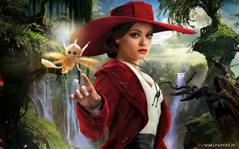 mila kunis oz  great  powerful wallpapers hd