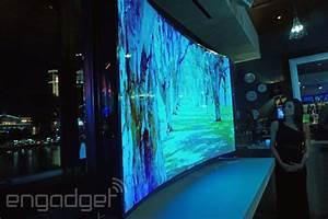 Tv 85 Zoll : samsungs biegsamer 85 zoll und gew lbter 105 zoll tv marktstart in diesem jahr engadget ~ Watch28wear.com Haus und Dekorationen