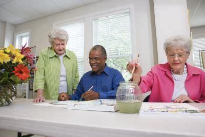 lead  arts craft class  senior citizens