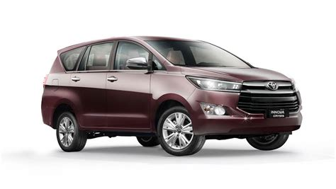 toyota innova crysta price  india  review carwale