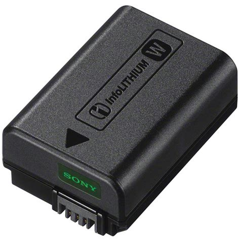 sony np fw50 lithium ion rechargeable battery 1020mah npfw50