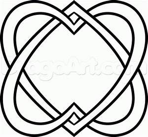 How to Draw a Celtic Heart, Step by Step, Symbols, Pop ...