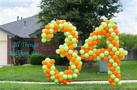 Number 3 Home Decor : Amazing Balloon Decorations For Events In Greater San
