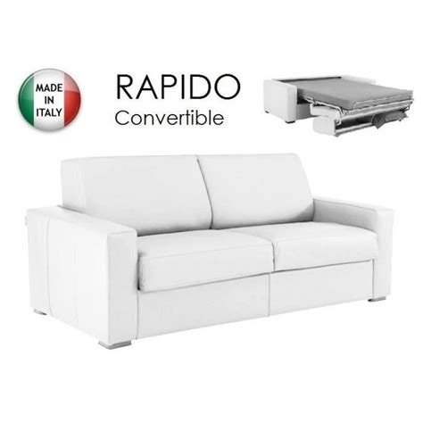 canap 233 convertible rapido 160cm dreamer cuir 233 c achat vente canap 233 sofa divan cuir